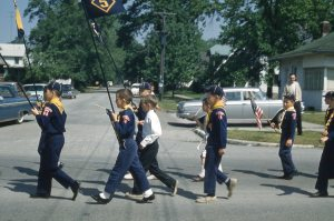 FOURTH OF JULY PARADE 1962